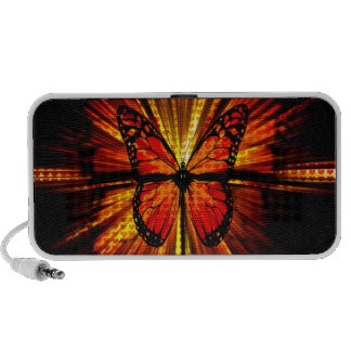 Butterfly Doodle iPhone Speaker