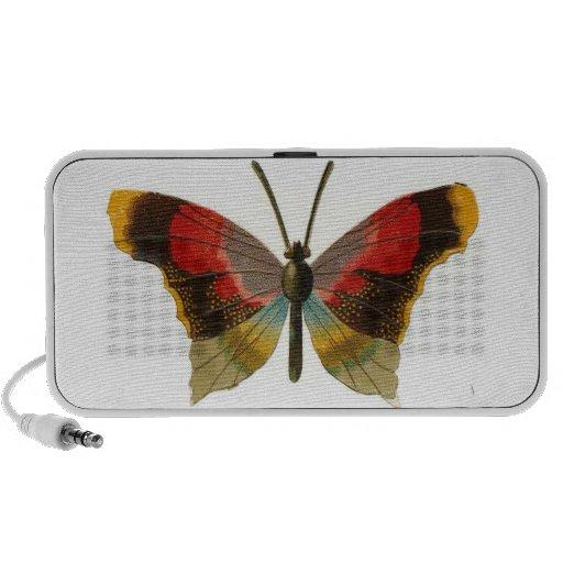 Butterfly Doodle iPod Speakers