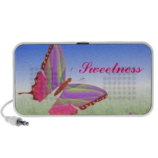 Butterfly Doodle Speaker System