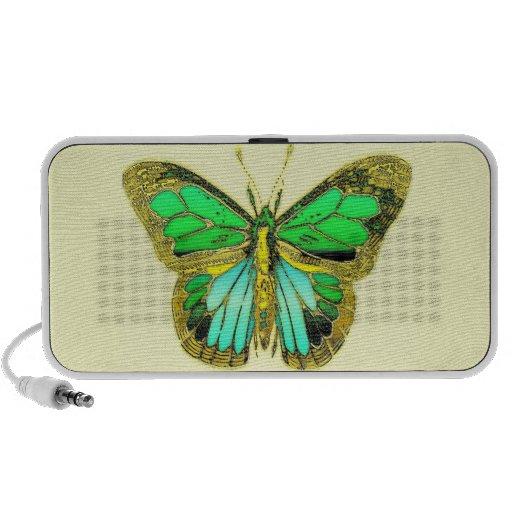 Butterfly Doodle Travelling Speaker