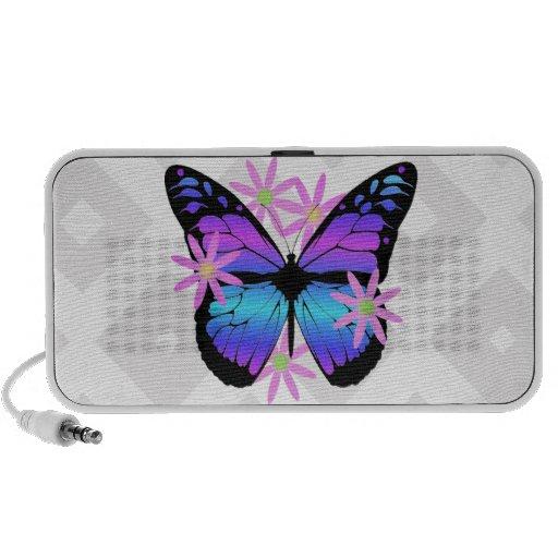 Butterfly Doodle Speakers