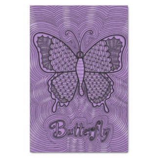 "Butterfly Doodle Tissue Paper 10"" X 15"" Tissue Paper"