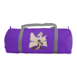 Butterfly Dragon Duffel Gym Bag