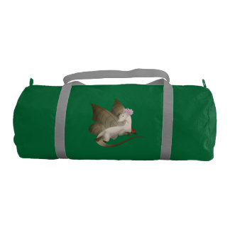 Butterfly Dragon Duffel Gym Bag 3