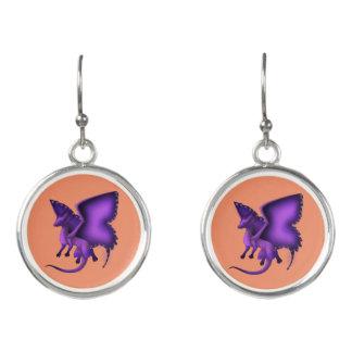Butterfly Dragon Earrings 3