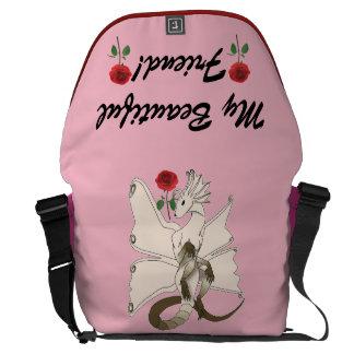 Butterfly Dragon Messenger Bag