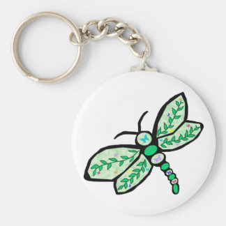 Butterfly Dragonfly key chain