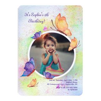 Butterfly Dream Photo Invitation