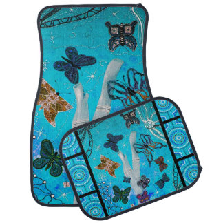 Butterfly Dreaming Full Set Car Mats