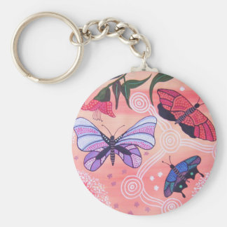 Butterfly Dreaming Key Chain