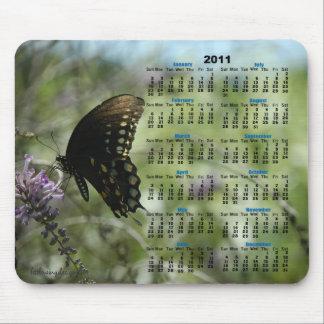 Butterfly Dreams 2011 Calendar Mousepad