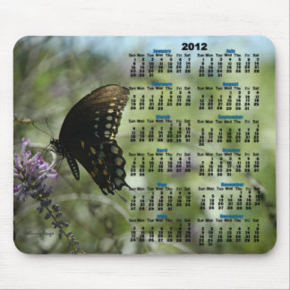 Butterfly Dreams 2012 Calendar Mousepad