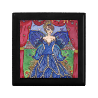 butterfly dress small square gift box