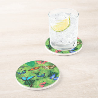 Butterfly Drinking Coaster - Invasion Swarm