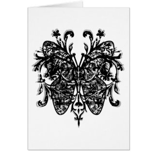 Butterfly Effect (b&w) Greeting Card