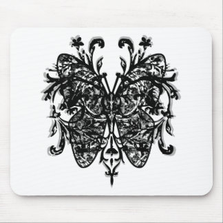 Butterfly Effect b w Mouse Mats