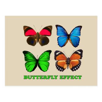 Butterfly effect postcard