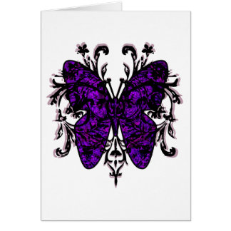 Butterfly Effect (purple) Card