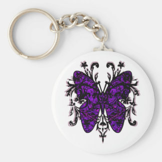 Butterfly Effect purple Key Chain