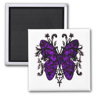Butterfly Effect purple Magnet