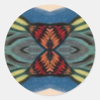 Butterfly Effect Round Sticker