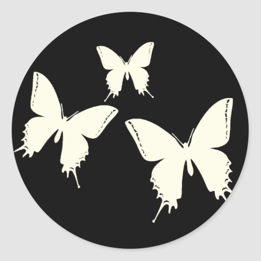 Butterfly Envelope Enclosure Stickers