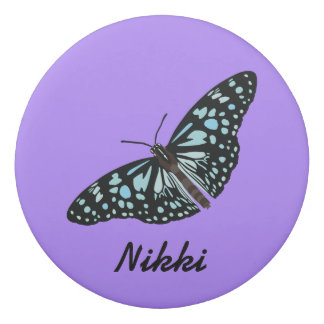 Butterfly Eraser With Name