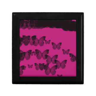butterfly  eternity small square gift box