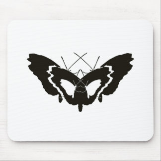 Butterfly Evolution Silhouette Mousepads