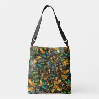 butterfly explosion crossbody bag