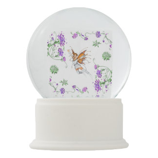 Butterfly Faerie Snow Globe