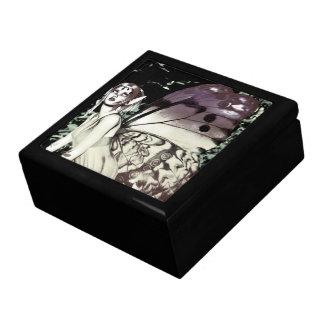 Butterfly fairy art Trinket Box