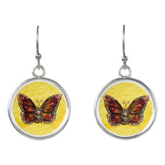 Butterfly Fairy Cat Earrings