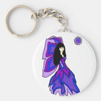 Butterfly fairy key chain