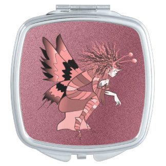 Butterfly Fantasy Fairy Tale Unique Elf Brownie Mirror For Makeup