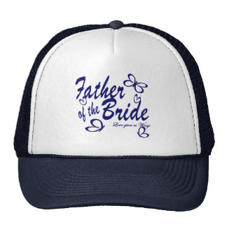 Butterfly/ Father of the Bride Cap
