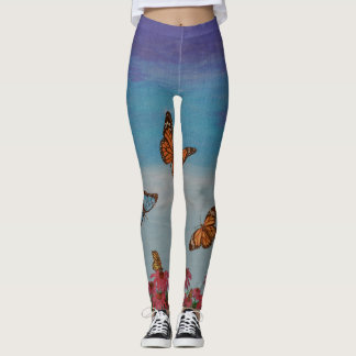 Butterfly Field Leggings