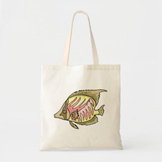 Butterfly Fish Canvas Bags
