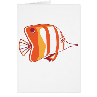 Butterfly fish cards