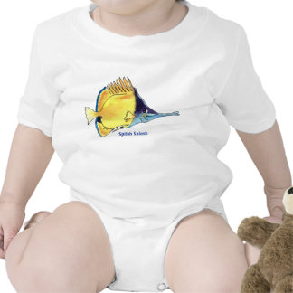 Butterfly Fish Cartoon Fish Cute Infant Tee Shirt