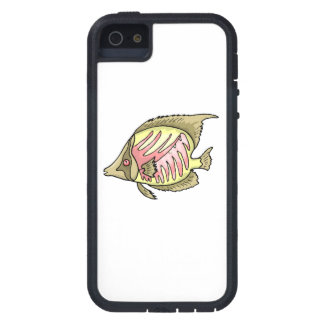 Butterfly Fish Case For iPhone 5