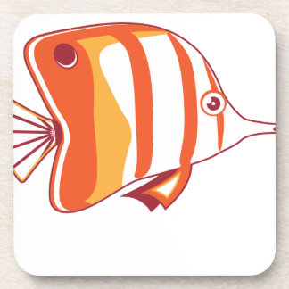 Butterfly fish coasters