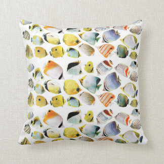 Butterfly fish cushion
