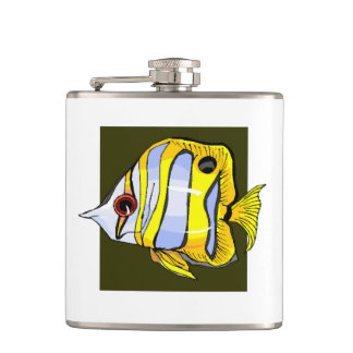 Butterfly Fish Flasks