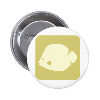 Butterfly Fish Icon Pin