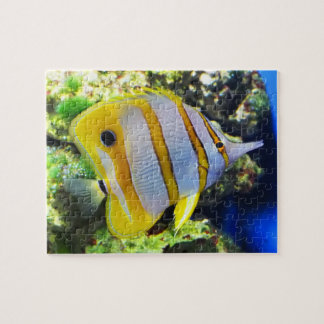 Butterfly fish jigsaw puzzle