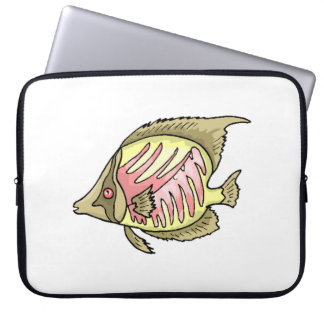 Butterfly Fish Computer Sleeve