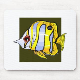 Butterfly Fish Mousepad