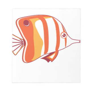 Butterfly fish memo pads