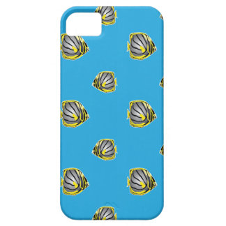 Butterfly-fish pattern barely there iPhone 5 case